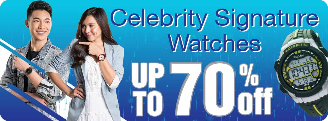 Make your outfits extra special with these UniSilver TIME celebrity signature watches from your idols:  Derrick Monasterio, Bea Binene, Joyce Ching, Kristoffer Martin, Darren Espanto, Juan Karlos Labajo, Neil Perez, Sassa Dagdag, and TJ Monterde.