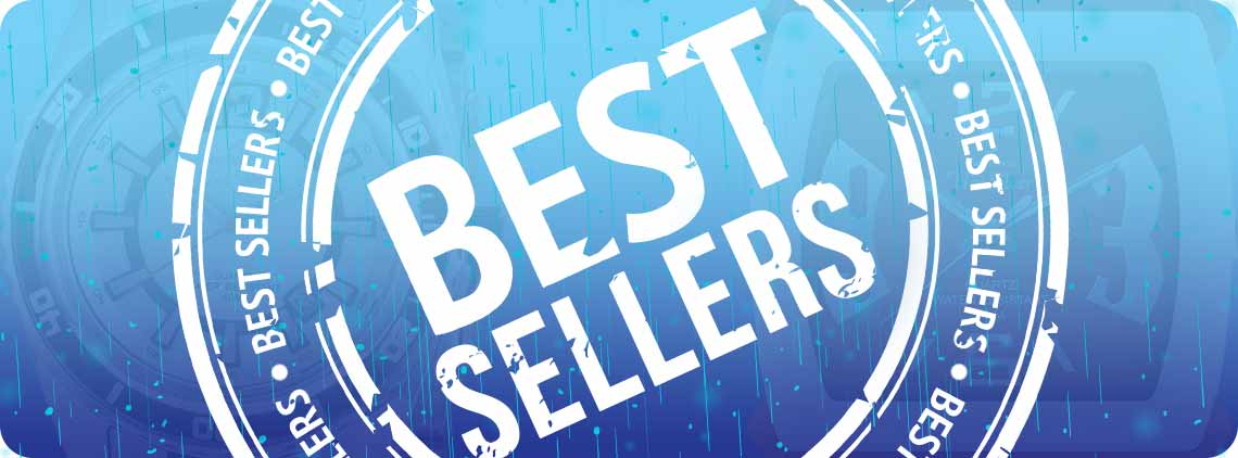 Choose from our selection of bestsellers, tested through time!  These popular timepieces are a guaranteed hit among our customers.  You will surely find here a watch to your liking!