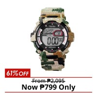 CAMO-D DIGITAL RUBBER WATCH