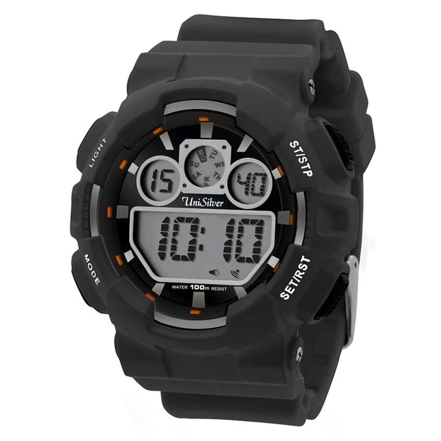 URBANITE RUBBER DIGITAL WATCH