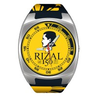 RIZAL WATCH ANALOG RUBBER WATCH