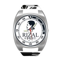 RIZAL ANALOG RUBBER WATCH