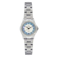 IRIS STAINLESS STEEL ANALOG WATCH