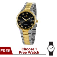 ENDICTUM GOLD  STAINLESS STEEL ANALOG WATCH