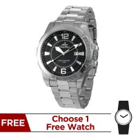 KLYDE STAINLESS STEEL ANALOG WATCH