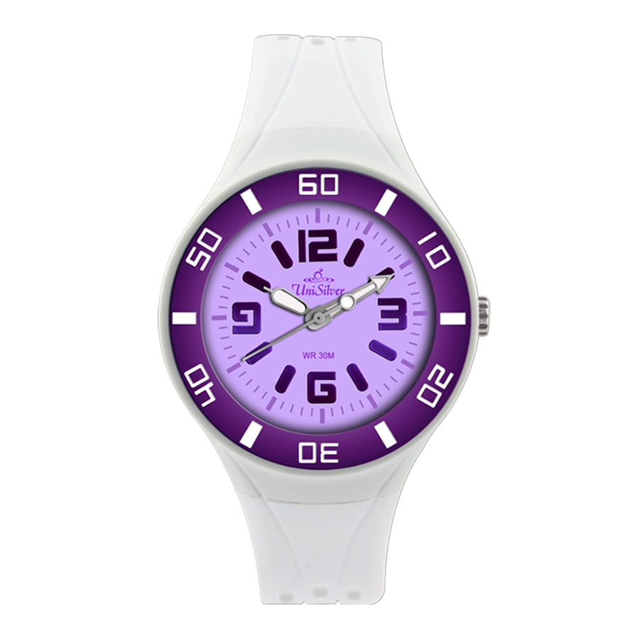 ZESTY RUBBER ANALOG WATCH