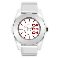 HALLYU RUBBER ANALOG WATCH