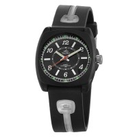 ICONIQ DREAMER ANALOG RUBBER WATCH