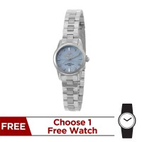 CLARITHEA ANALOG STAINLESS STEEL WATCH