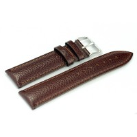 LEATHER LIGHT BROWN WITH SNAKE SKIN DSGN (22mm)