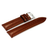 LEATHER PALE BROWN WITH  SNAKE SKIN DSGN (22mm)
