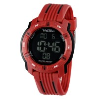 MENS INTEGER RUBBER WATCH