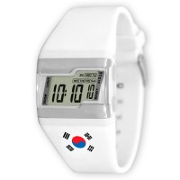 KOREAN FLAG FLXY BALLER DIGITAL RUBBER WATCH