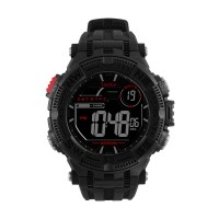 CHROMER DIGITAL RUBBER WATCH
