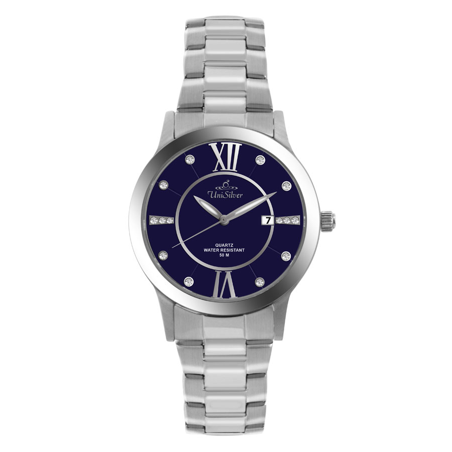 EPIPHANY STAINLESS STEEL ANALOG WATCH