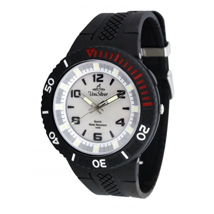 GYPSYNC MENS ANALOG RUBBER WATCH