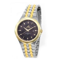 NOVASTELLA PAIR TWO TONE  STAINLESS STEEL WATCH