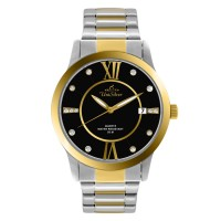 EPIPHANY TWO TONE STAINLESS STEEL ANALOG WATCH