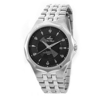 NOVASTELLA PAIR ANALOG STAINLESS STEEL WATCH