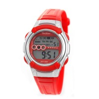 GIDGET CHILDRENS DIGITAL RUBBER WATCH