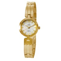 HOKIME GOLD ANALOG STAINLESS STEEL WATCH