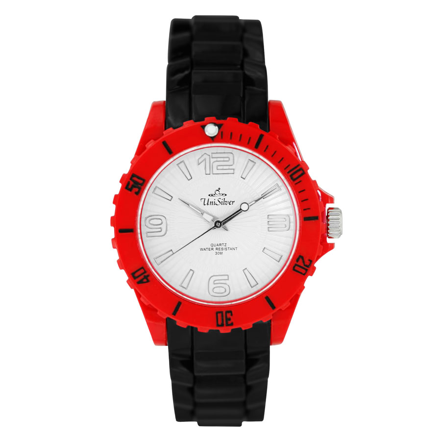 RAZZLE RUBBER ANALOG WATCH