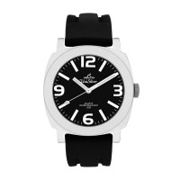 MENS KONVEX CRUX ANALOG RUBBER WATCH