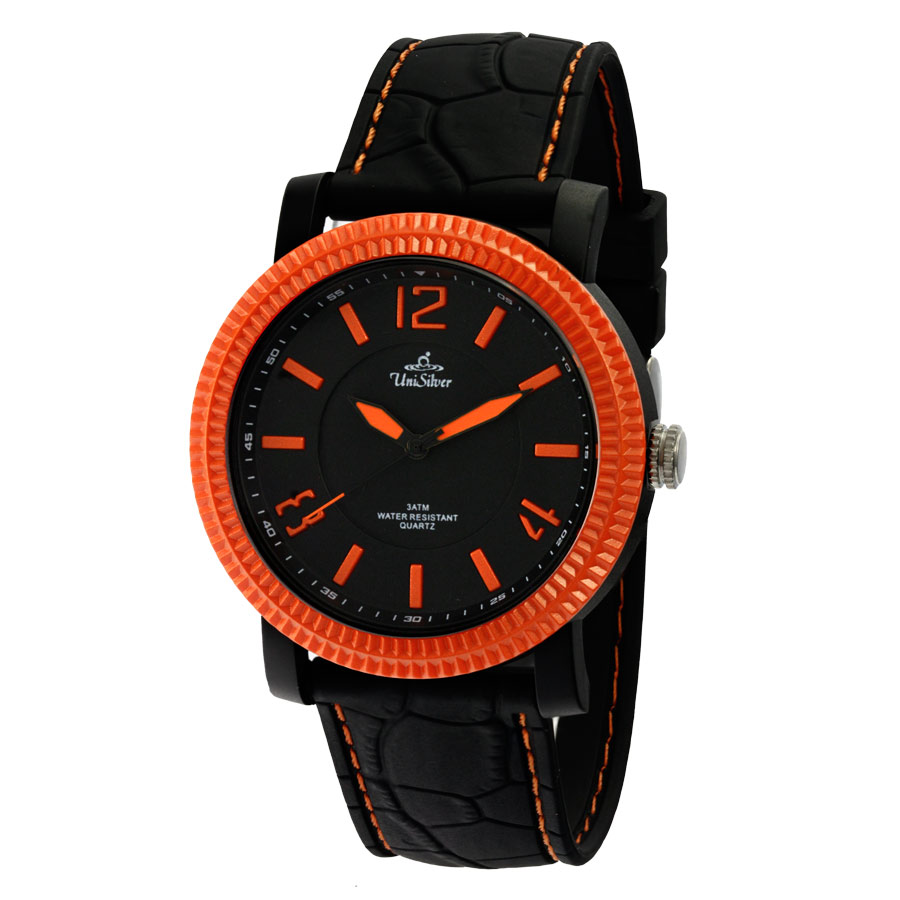 KOOKY RUBBER ANALOG WATCH