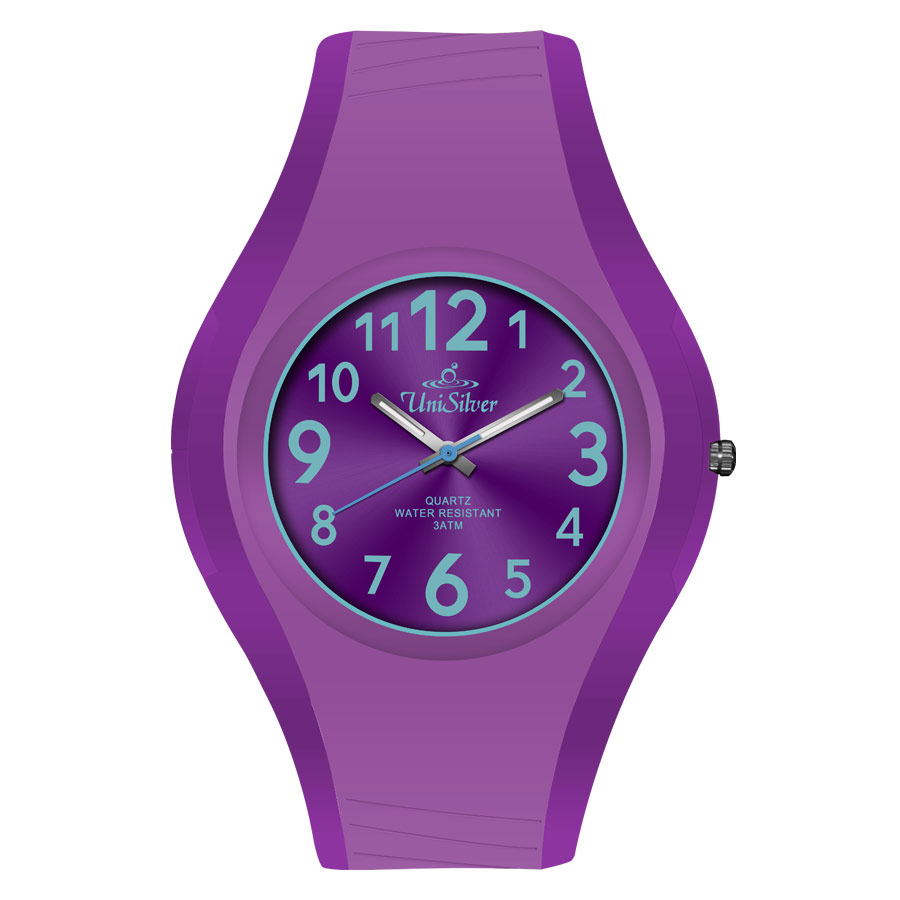 SPECTRA RUBBER ANALOG WATCH