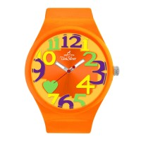 8'O HEARTS RUBBER ANALOG WATCH