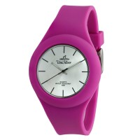 UniSilver TIME Women's Jelly Elite Analog Rubber Violet  Watch