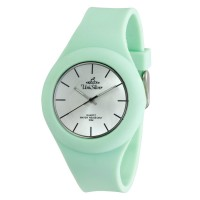 UniSilver TIME Women's Jelly Elite Analog Rubber Mint Green  Watch
