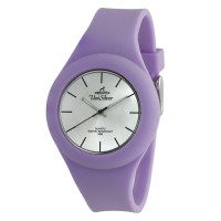 UniSilver TIME Women's Jelly Elite Analog Rubber Lavender  Watch