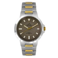 EXCELSIA TWO TONE STAINLESS STEEL ANALOG WATCH