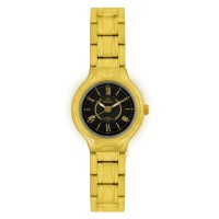 ARKOS GOLD STAINLESS STEEL ANALOG WATCH