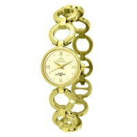 SERENITY GOLD STAINLESS STEEL ANALOG WATCH
