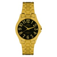 SYMPHONY GOLD STAINLESS STEEL ANALOG WATCH