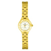 IMOGEN GOLD STAINLESS STEEL ANALOG WATCH