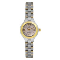 ALEXIA TWO TONE STAINLESS STEEL ANALOG WATCH
