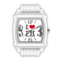 SMALL I LOVE PH ANALOG WATCH