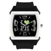 REGULAR I LOVE PH RUBBER ANALOG WATCH