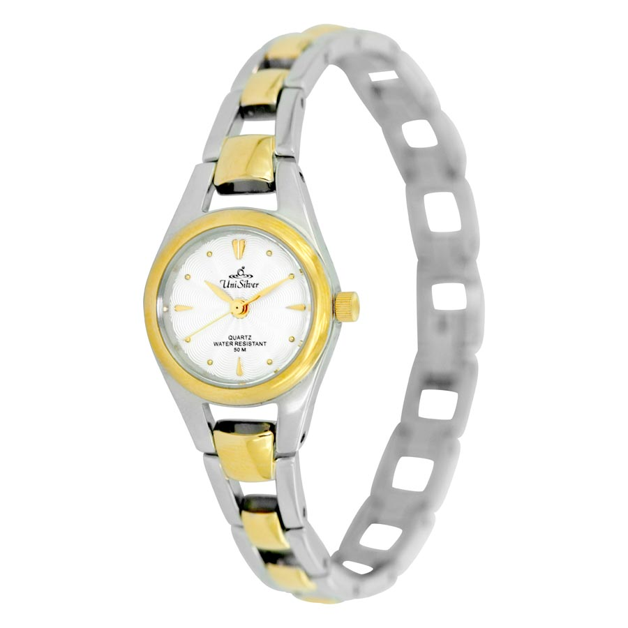 FORTUNELLE STAINLESS STEEL ANALOG WATCH