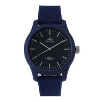Unisilver TIME Unisex Blue Analog Rubber Watch