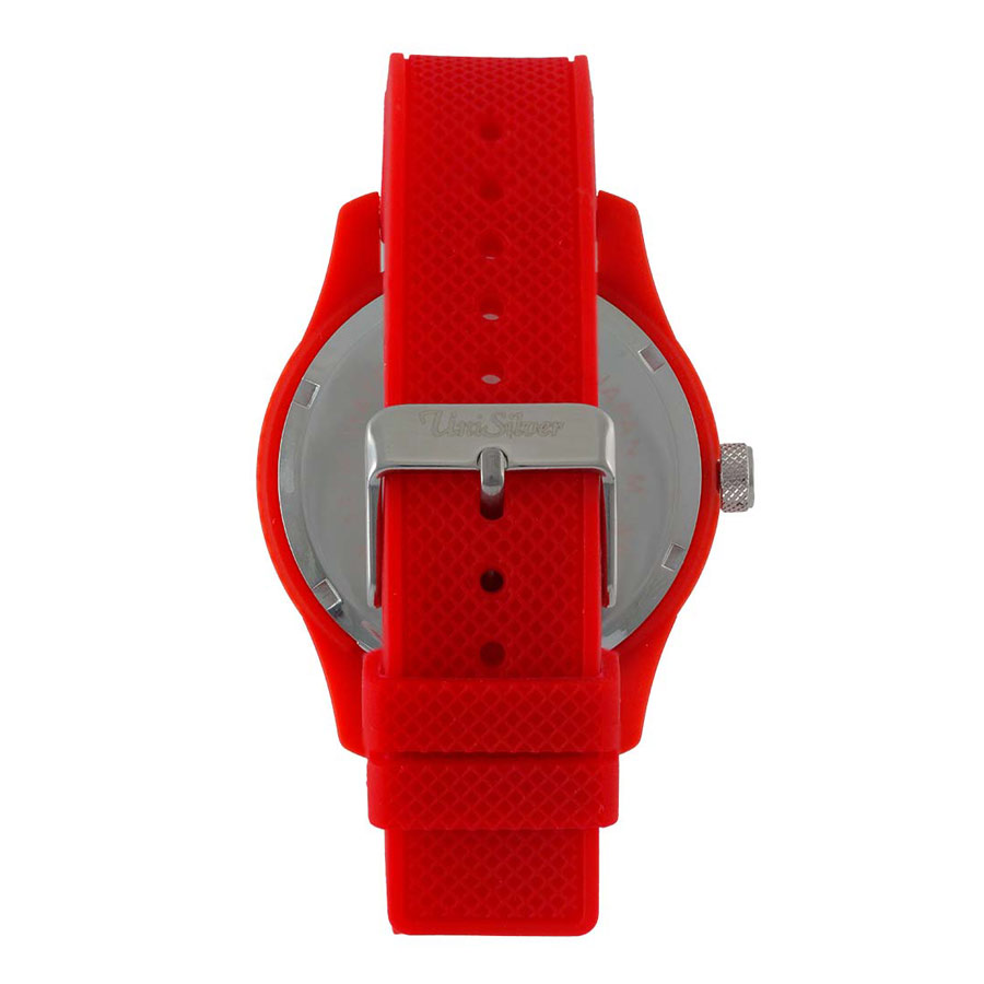 Unisilver TIME Analog Rubber Watch