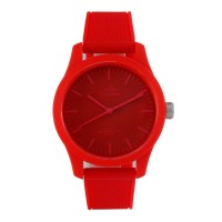 Unisilver TIME Unisex Red Analog Rubber Watch