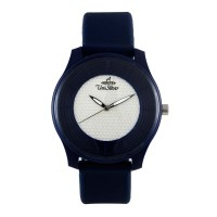 Unisilver TIME Unisex Navy Analog Rubber Watch
