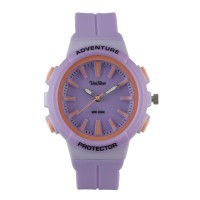 Unisilver TIME Unisex Violet Analog Rubber Watch