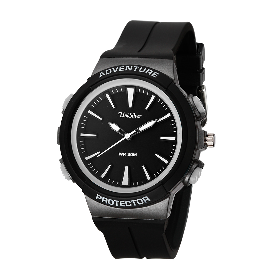 Unisilver TIME TJ Monterde's Analog Rubber Watch