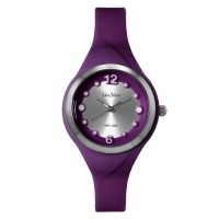 DIT DOTS RUBBER ANALOG WATCH
