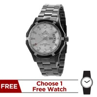 TRAXXION II STAINLESS STEEL ANALOG WATCH